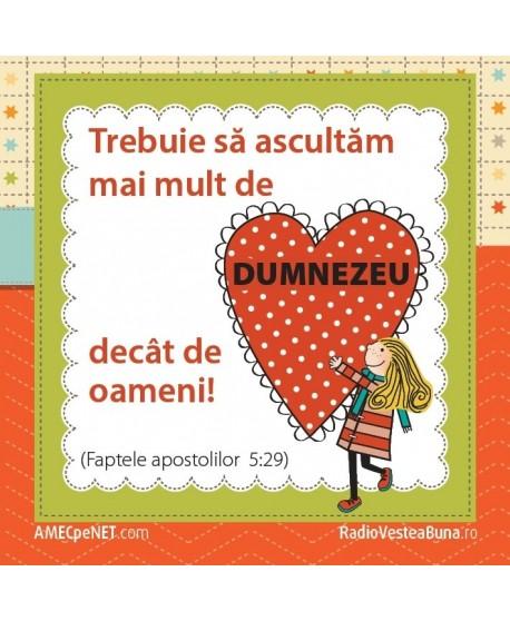 Abţibild– Fapte 5:29 – set 5 buc.