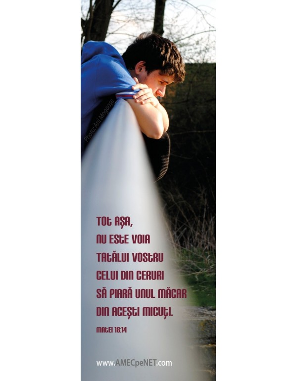 Semn de carte – Voia Tatălui vostru - 3 buc.