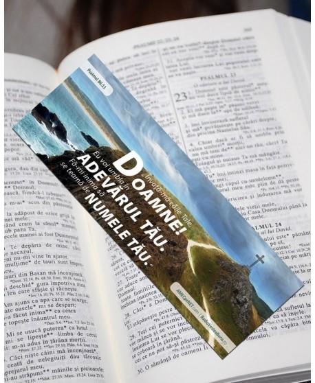 Semn de carte – Psalmul 86:11 set 3 buc.