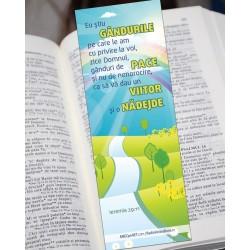 Semn de carte – Ieremia 29:11 set 3 buc.
