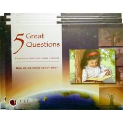 Cinci întrebări importante - imagini