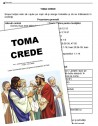 Toma crede - text