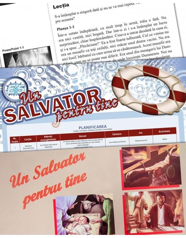 Un salvator pentru tine – text