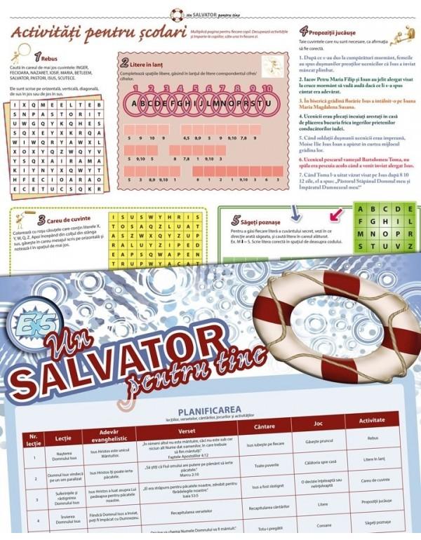 Un salvator pentru tine – pachet