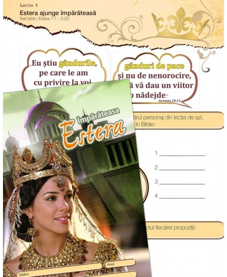 Estera - caiet de lucru