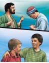 Lui Dumnezeu Îi pasă – planşe