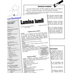 Lumina lumii — text