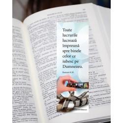 Semn de carte – Romani 8:28...