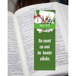 Semn de carte – Matei 28:20...