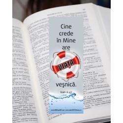 Semn de carte – Ioan 6:47 –...