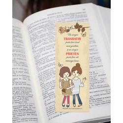 Semn de carte – Prietenia –...