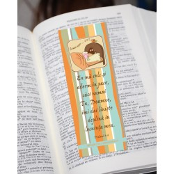 Semn de carte – Psalmul 4:8...