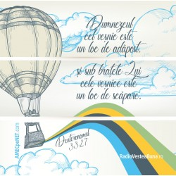Abţibild – Deuteronom 33:27...
