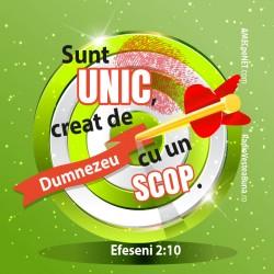 Abţibild – Efeseni 2:10 –...