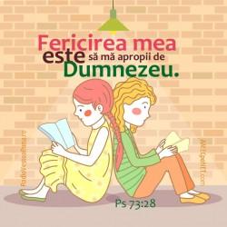 Abţibild – Psalmul 73:28 –...