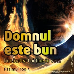 Abţibild – Psalmul 100:5 – 5 buc.